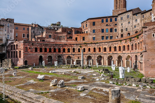 Trajan's markets in Rome Poster