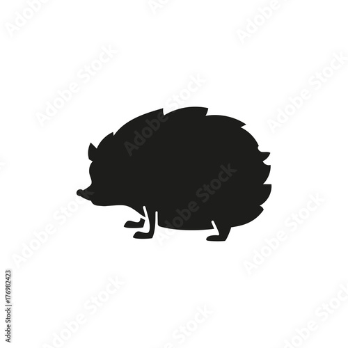 Hedgehog simple icon