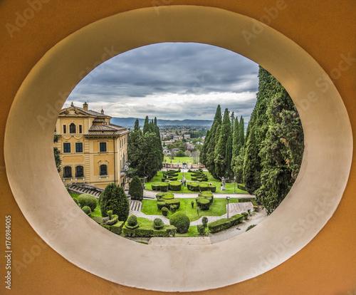 Fridge magnet Villa Fidelia