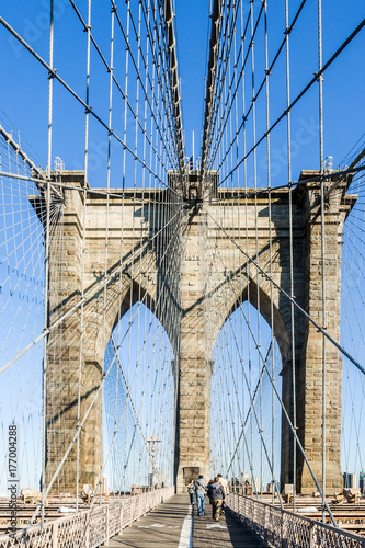 Aluminium Brooklyn Bridge New York