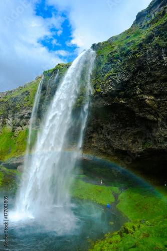 Waterfall, Iceland, tourism - 177013805