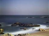 Rocky beach at night - 177014031