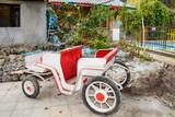 a small pony cart - 177017889