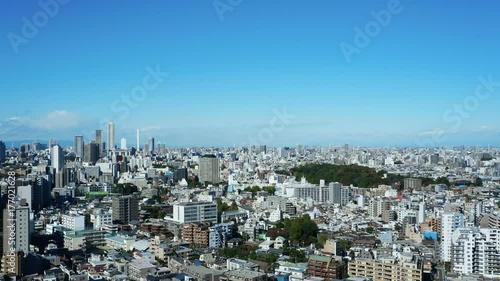 東京風景 タイムラプス 池袋から巣鴨・駒込方面