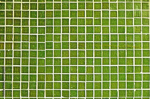 Tło od wapno zieleni mozaik płytek