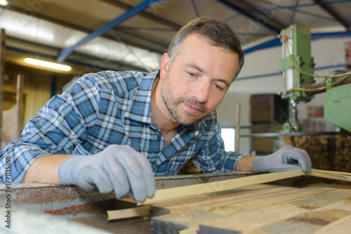Carpenter at work - 177035091