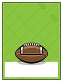 American Football Flyer Template Illustration - 177061614