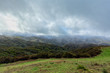 Quadro Storm clouds in the Los Padres National Forest in California.