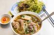 Vietnamese noodle soup Bun Bo Hue