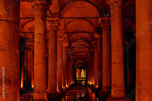 Basilica Cistern. Istanbul. Turkey Poster