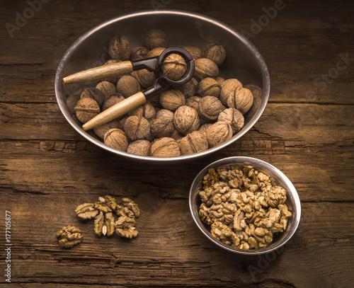 still life with walnut