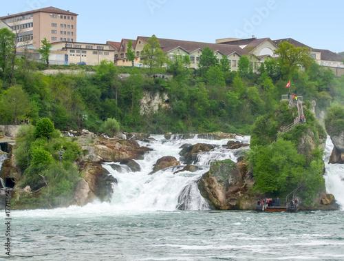 Rhine Falls in Switzerland - 177113641