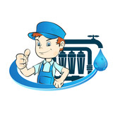 Installation of water filters - 177115489