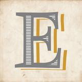 vintage alphabet letter design - 177125608