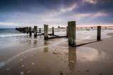 Buhne und Seebrücke in Zingst an der Ostsee