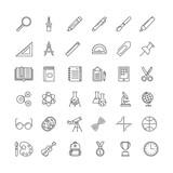set of education icons - 177130696