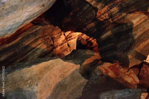 Chynov caves, Chynov, Czech Republic Plakát