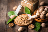 Fresh nutmeg - 177137092