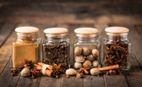 Aromatic spices in the jar - 177138459