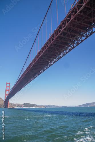 sous le pont Poster