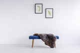 Rug on bench - 177142813