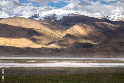 Papiers peints Cappuccino Landscape around Tso Moriri Lake in Ladakh, India