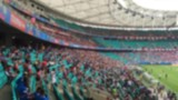 Blurred scene of a crowded at sports stadium - 177157839