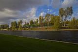 Autumn on the river Spree - 177158464