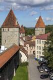 Medieval City Walls - Tallinn - Estonia poster