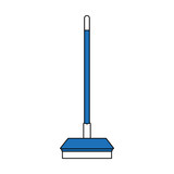 Broom home tool icon vector illustration graphic design - 177161809