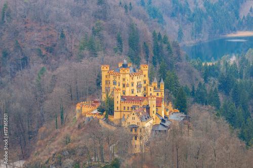 Papiers peints Lavende Bavaria. The village Schwangau.