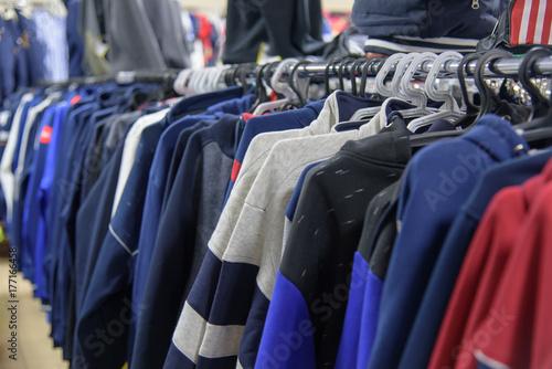 hoodies on hanger Poster