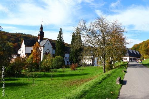 Kloster Eberbach im Rheingau плакат