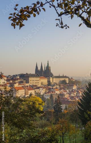 Autumn in Prague Poster