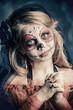 little sugar skull girl