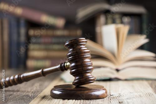 Fototapeta samoprzylepna Lawyer concept