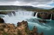 アイスランド ゴーザフォス 滝 北部観光 ダイヤモンドサークル 神々の滝 絶景 夏 iceland island summer waterfall Godafoss  diamond circle