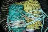 cordage corde pêche pêcher filet mer océan attraper marin poisson - 177206452