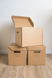 cardboard boxes with lid - 177216627