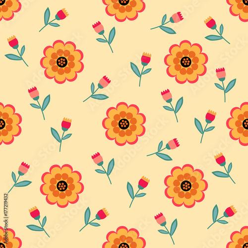 Seamless pattern beautiful - 177219432