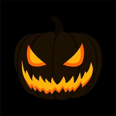 halloween theme illustration background