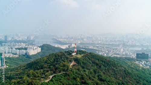 Fotobehang Seoel Seoul City , South Korea