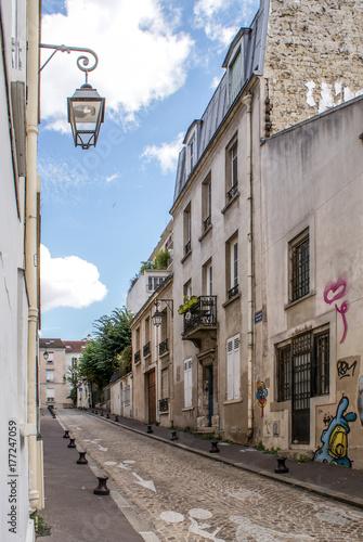 Aluminium Smalle straatjes Paris, France