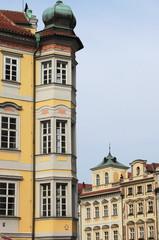 Prague urban scenic