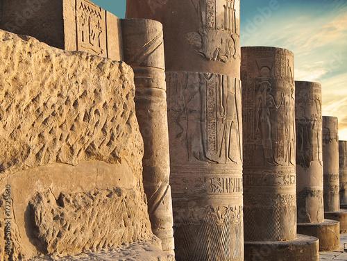 Columnas de Egipto