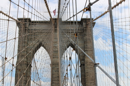 Aluminium Brooklyn Bridge New York CITY