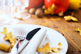 happy Thanksgiving; thanks giving dinner - 177259447