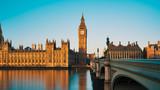 Big Ben and House of Parliament at dawn, London, UK