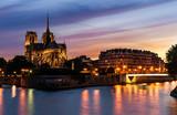 Notre dame de Paris, nuit