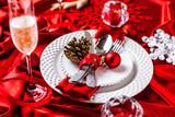 Weihnachten Menü Hintergrund - 177274493